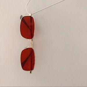 (SOLD ON DEPOP) Vintage Red Tinted Sunglasses